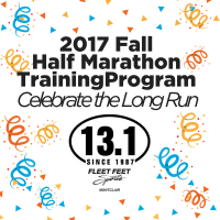 2017 Fall Half Marathon Training Program