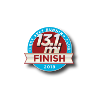 2018 Half Marathon: FINISH - Summer